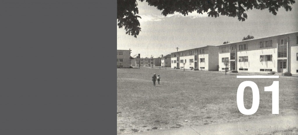 Little Mountain Housing: Social Housing for Vancouver in 1954.