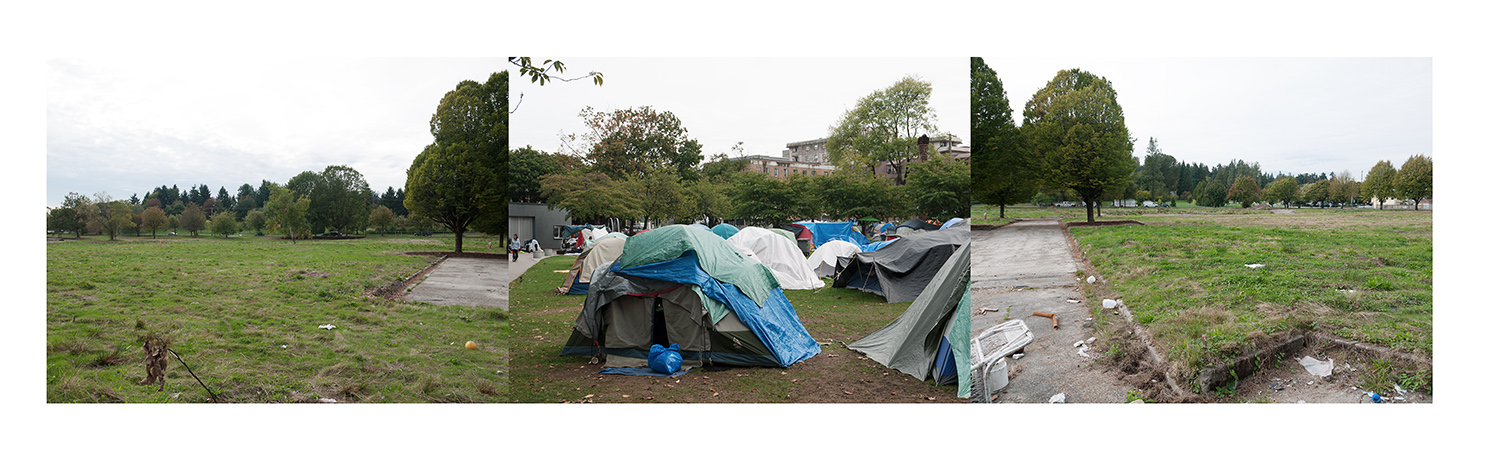 Oppenheimer Tent City as Little Mountain Project